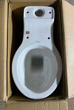 Burlington Low/High Level Ceramic Toilet Pan - White.