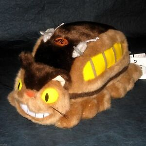 STUDIO GHIBLI 13in CATBUS - OFFICIAL PLUSH TOY - NEW (K-6429)
