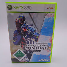 Millenium Championship Paintball 2009 Microsoft Xbox 360 2009 PAL Spiel Game