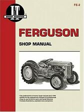 Ferguson TE-20 TO-20 TO-30 Tractor Shop Service Repair Manual I&T FE2 NEW