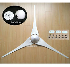 "3 x 53"" Wind Turbine Generator Blades + Hub + Nose Cone 3 socket fit Air-X 403"