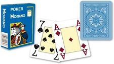 Modiano Voll Plastik Romme Karten 52er Blatt mit 3 Joker Hellblau Poker Canasta
