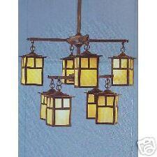 Chandelier - Monterey Bronze 8 lamp 120volt