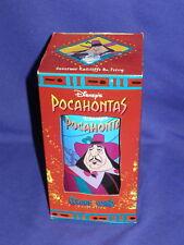 Disney Pocahontas Ratcliffe & Percy Burger King Glass