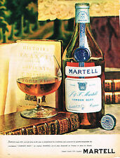 PUBLICITE  1966   MARTELL   cognac cordon bleu