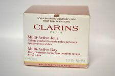 Clarins Multi Active Day Early Wrinkle Correction Cream Dry Skin 1.7 oz