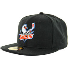 New Era 59Fifty SD San Diego Gulls Fitted Hat (Black) Men's AHL Hockey Ducks Cap