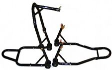 Motorcycle Stand Front Triple Tree & Rear Spool Stands, Headlift