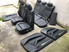 Inkl UMBAU BMW X1 E84 Sportsitze schwarz Lederausstattung Ausstattung Leder edel