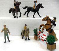 """""""Equitazione"""" Plastoy 70378 (entra e scegli il personaggio) cm. 4 circa"""