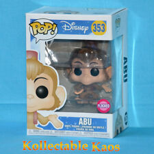 Aladdin - Abu Flocked Pop! Vinyl Figure #353 (RS)
