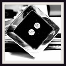 0.50ct to 0.55ct CVD Lab Grown Diamonds 2 stone DEF VVS VS Round Cut HPHT