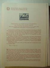 1965  ITALIA  Bollettino Postale N° 117  Traforo del Monte Bianco