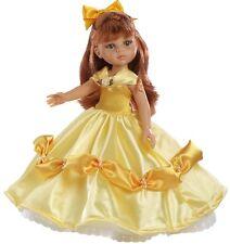 Paola Reina prendas princesa vestido de oro con calzado para 32 - 34 cm muñecas