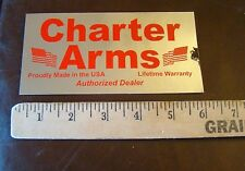 Charter Arms Firearms  Decal Sticker