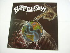 BLIND ILLUSION - THE SANE ASYLUM - LP VINYL EXCELLENT CONDITION 1988
