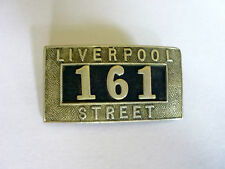 More details for porters badge liverpool street no. 161