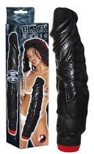 Sex Toys Fallo_Vibrator Realistico Black Magic Ano_vagina Dildo Vibrante nero