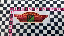 Etiqueta engomada Vespa Piaggio Scooter distribuidor italiano-ADESIVO AUTOCOLLANT AUFKLEBER
