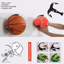 Ball Holder Claw Wall Mount Rack Display for Football Basketball Soccer m0ID