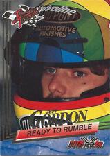 1993 Wheels Rookie Thunder Platinum Parallel Jeff Gordon #82 Ready to Rumble
