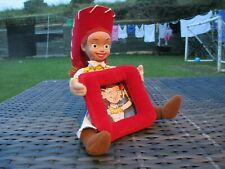 RARE Pixar Disney Store Toy Story 2 - COWGIRL JESSIE - Soft Plush Photo Frame