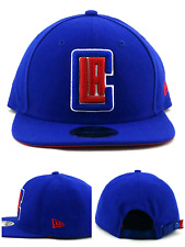 size 40 c0a03 edacd Los Angeles Clippers LA New Era 9Fifty Blue Red Strapback Nylon Snap Hat Cap