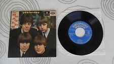 THE BEATLES Yesterday 7´EP PORTUGAL RARE SLEEVE UNIQUE PARLOPHONE EXC