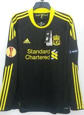 Liverpool Europa 3rd Shirt 2010 2011 Long Sleeve Extra Large BNWT 18 Kuyt