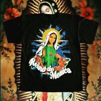 Vintage Jesus Christ Virgin Mary shirt double sided size LARGE deadstock VTG HTF