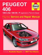 3394 Peugeot 406 1996 -1997 Petrol & Diesel Haynes Service and Repair Manual