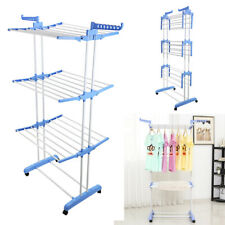 Folding Clothing Dryer Clothes Rack Washing Laundry Furniture Hanging Garment