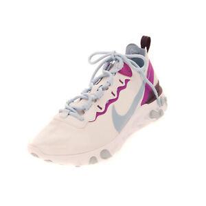 RRP €105 NIKE REACT ELEMENT 55 Sneakers Size 39 UK 5.5 US 8 Swoosh Logo Textured