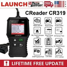 Automotive EOBD OBD2 Scanner Code Reader Car Check Engine Fault Diagnostic Tool