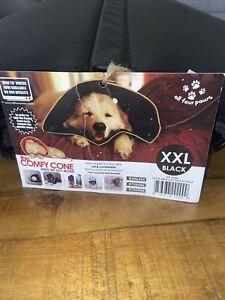ORIGINAL DOG COMFY CONE XXLARGE BLACK NEW SAFE COMFORTABLE