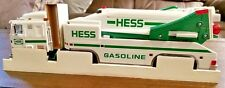"Hess Toy Truck And Space Shuttle Battery Operated Functions 14"" x 4.5"" 1999"