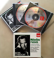 Boris Christoff (basso), Mélodies Russes / Russian Songs / Russische Lieder, ...