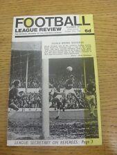 29/10/1966 recensione FOOTBALL LEAGUE: numero 10-Bristol Rovers Club chiamata caratteristica.