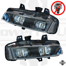 Black Edition Style Front Bumper DUMMY Fog Lights Range Rover Evoque Pure lamp
