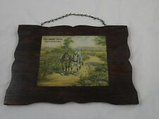"""Antique General Store Primitive """"OUTFIT STORE"""" Advertising Fourth & Rich Sts"""