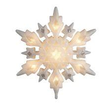 Schneeflocken als Christbaumschmucke