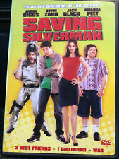 Saving Silverman (Dvd, 2001, Pg-13) Jack Black - Free Shipping