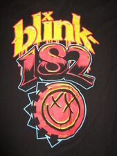 Blink 182 (Med) T-Shirt Yellow & Red