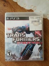 Transformers: War for Cybertron (Sony PlayStation 3, 2010) PS3