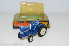 DINKY TOYS 308 LEYLAND 384 TRACTOR BLUE MINT BOXED RARE SELTEN RARO