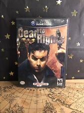 Nintendo GameCube Dead to Rights VideoGame  2002 - Mature - CIB Preowned