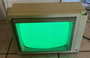 Vintage Apple II A2M2010 Monitor Green Phosphor - Working!