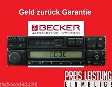 Radio Code Becker Le Mans Audio Exquisit Sound APS schnelle Hilfe / Mo - So
