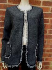 Huck Woman 100% Wool jacket size UK 14 EU 40-46