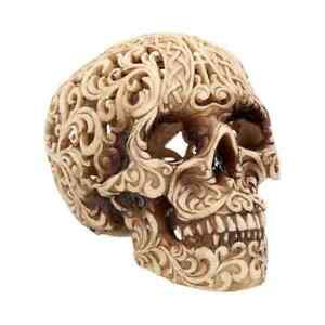 Celtic Decadence 18.5cm Skull Figurine Medium
